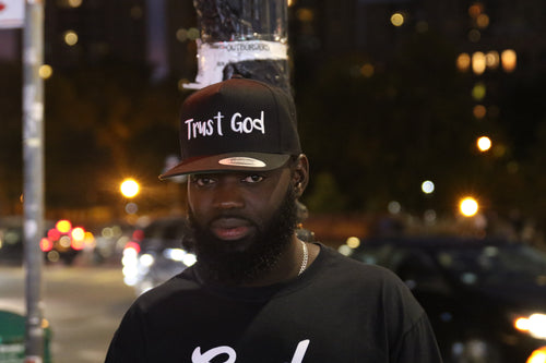 Trust God Snap Back Hat