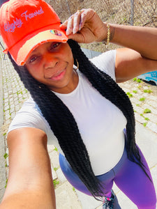 Highly Favored Neon Orange Hat