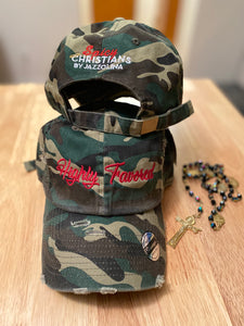 Highly Favored Camouflage  Hat