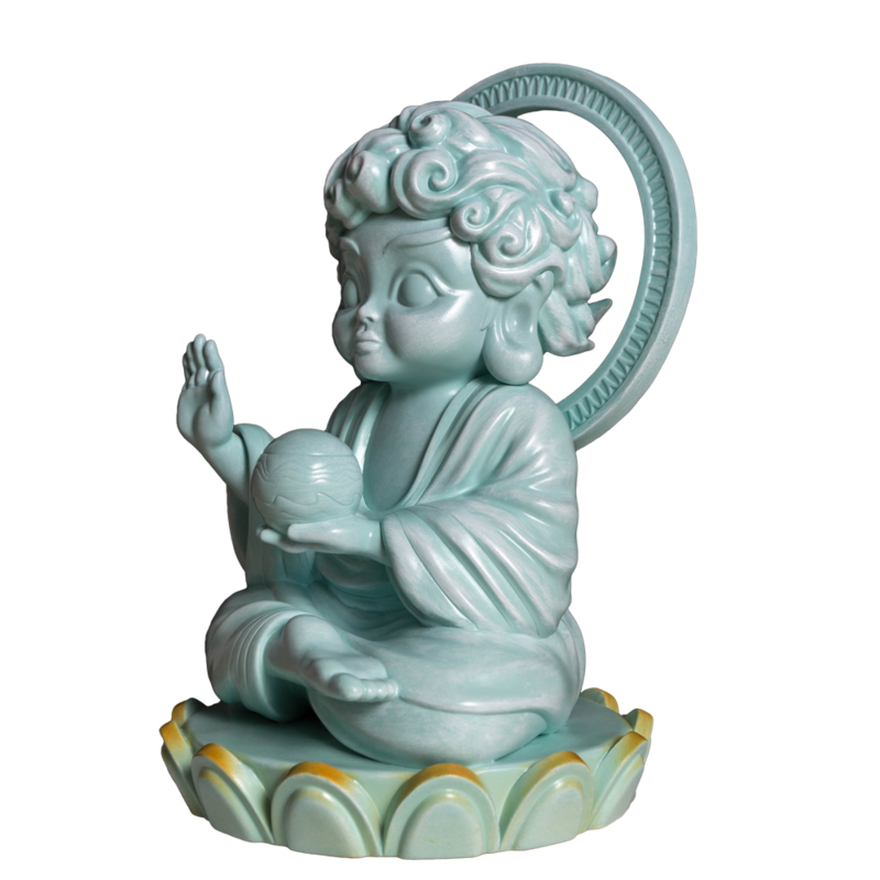 Hambuddha Celadon By Tik Ka From East