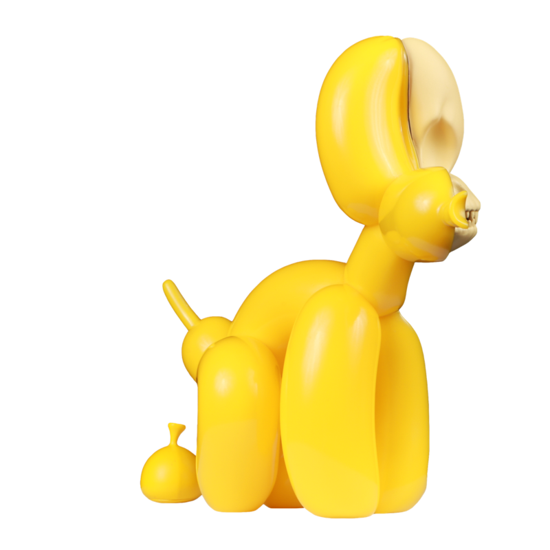Dissected Popek by Whatshisname and Jason Freeny (Yellow Edition)