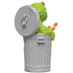 "Load image into Gallery viewer, XXRAY Plus: 8.5"" Oscar The Grouch"