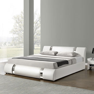 White King Platform Furniture Bed