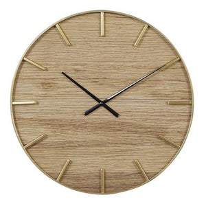 Metal Wall Clock Long Lasting Utility Product