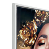 Canvas Art - Golden Makeup Wall Art Decor