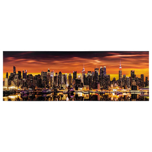 Canvas Art - NYC Skyline View Wall Art Decor