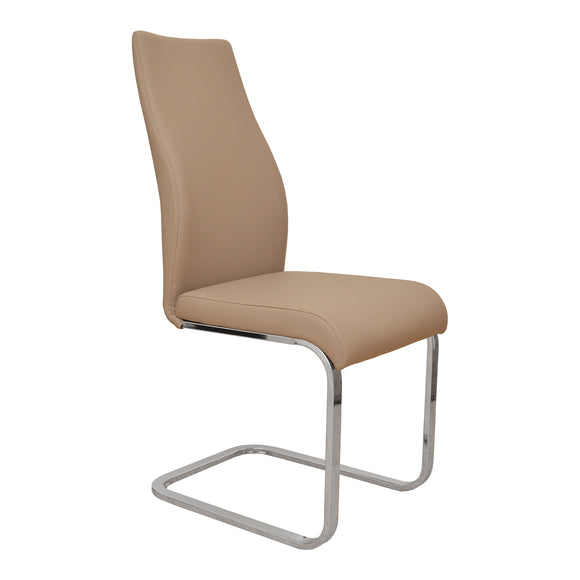 Modern Champagne Dining Chair