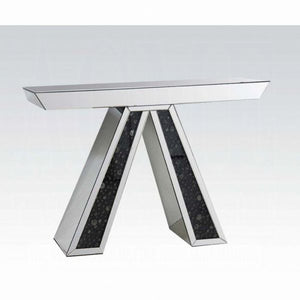 "43"" Noor Console Table - Mirrored"