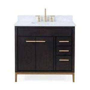 "Beatrice 36"" Coffee/Espresso Bathroom Sink Vanity -TB-9838-V36"