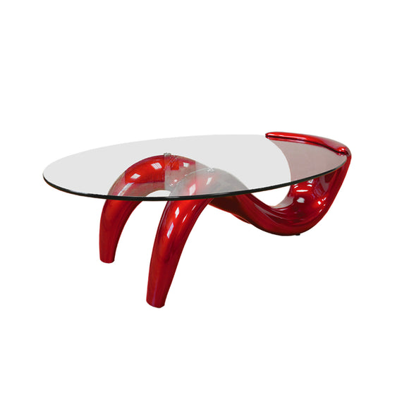 Red Stylish Mermaid Coffee Table