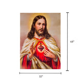 Canvas Art - Jesus Christ Wall Art Decor