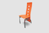 Modern Orange Dining Chair
