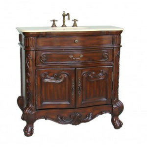 "Madison 36"" Bathroom Sink Vanity -S01M"