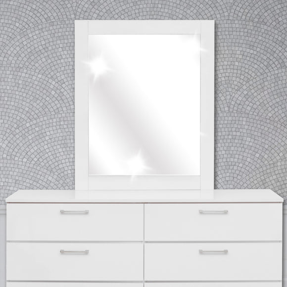 High Glossy Dresser Mirror - 32