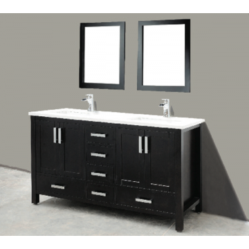 "Astoria 60"" Espresso Bathroom Sink Vanity -AST-VS60"