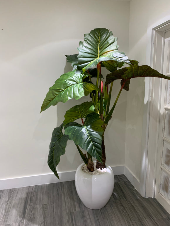 Alocasia Indoor Artificial Plant - Floral & Greenery