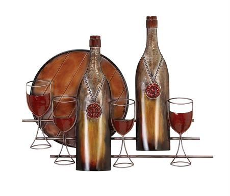 Metal Art - Wines Wall Art  Decor