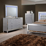 Genova Grey 5 Pc Queen Panel Bedroom