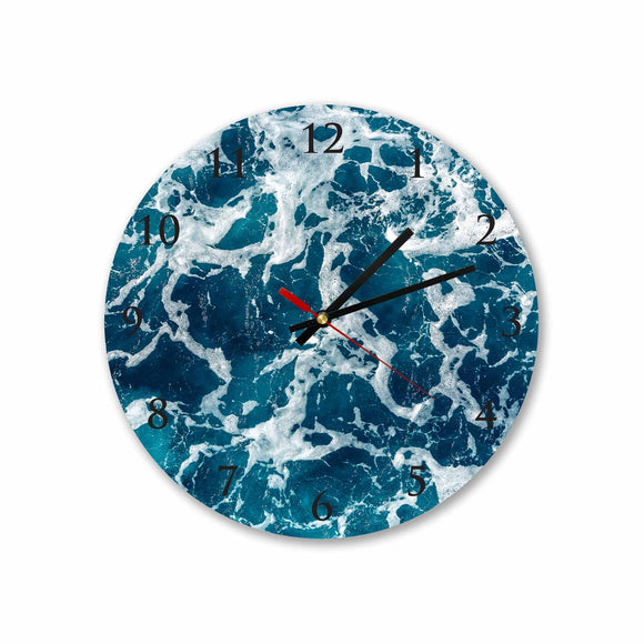 Sea Water Round/Square Acrylic Wall Clock