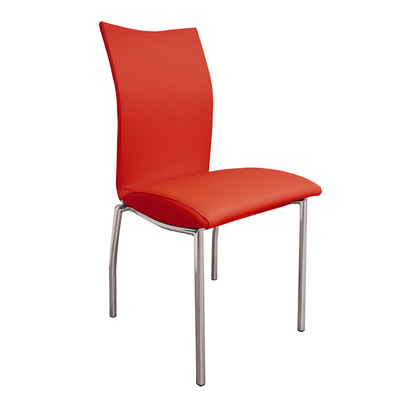 Modern Red Dining Chair