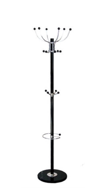Modern Coat Rack - Black