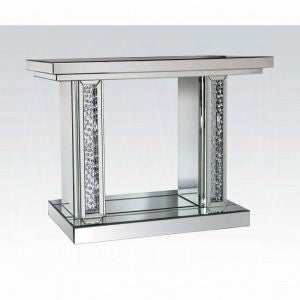 "48"" Nysa Console Table Mirrored"