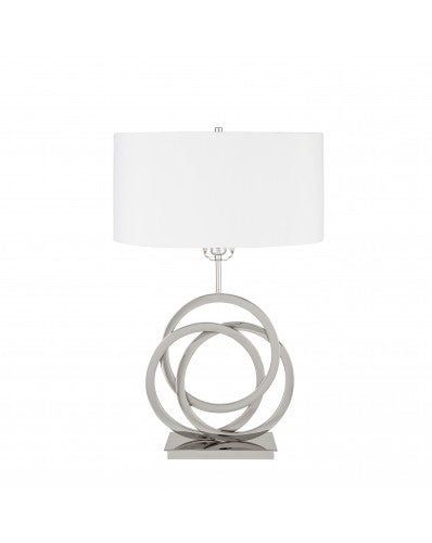 Circles in Origami Table Lamp -  3 Lighting Settings 27 inch