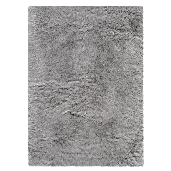 Modern Grey Shaggy Rug