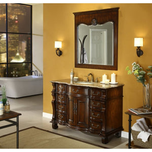 "Hopkinton 50"" with Mirror Bathroom Sink Vanity -CF4437B50-OR"