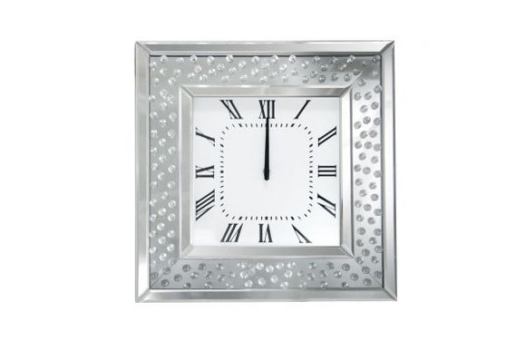 Nysa Wall Clock - Mirrored