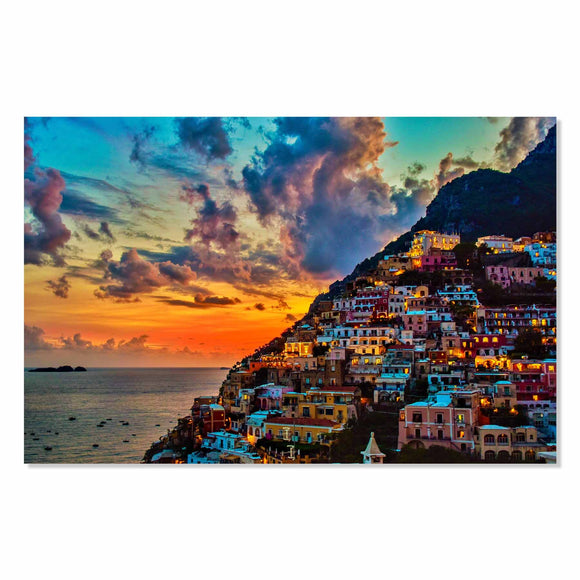 Tempered Glass Art - Amalfi Coast Fine Wall Art Decor