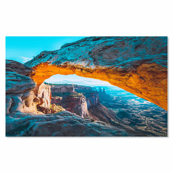 Tempered Glass Art - Grand Canyon View Fine Wall Art Decor