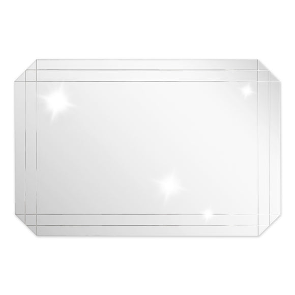 Modern Rectangular Mirror - 47