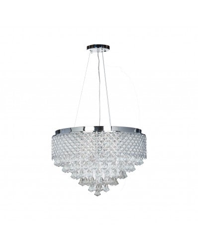 Extravaganza Chandelier - Lighting - Circular Crystal