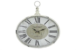 Decorative Oval Wall Clock