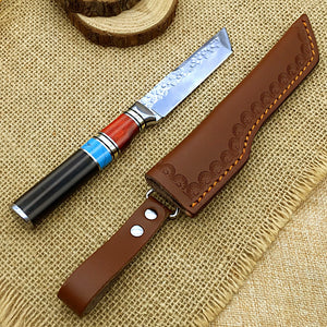 Kaiji VG10 Tanto Fixed Blade Knife - EDC Classic Japanese Style Outdoor Tool for Camping Trekking Hiking BKS6-KAI-GEN