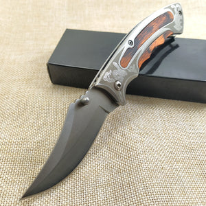 SDI Koya 440C Blade Pocket Folding Knife - EDC Outdoor Tool for Camping Hiking Trekking OKS5-SDI-GEN