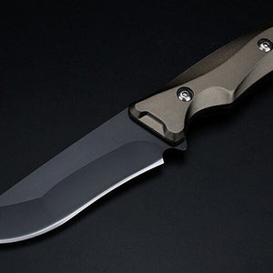TYR Tank Fixed Blade Knife - EDC Outdoor Tool for Camping Hiking Trekking XLOTS20-TYR