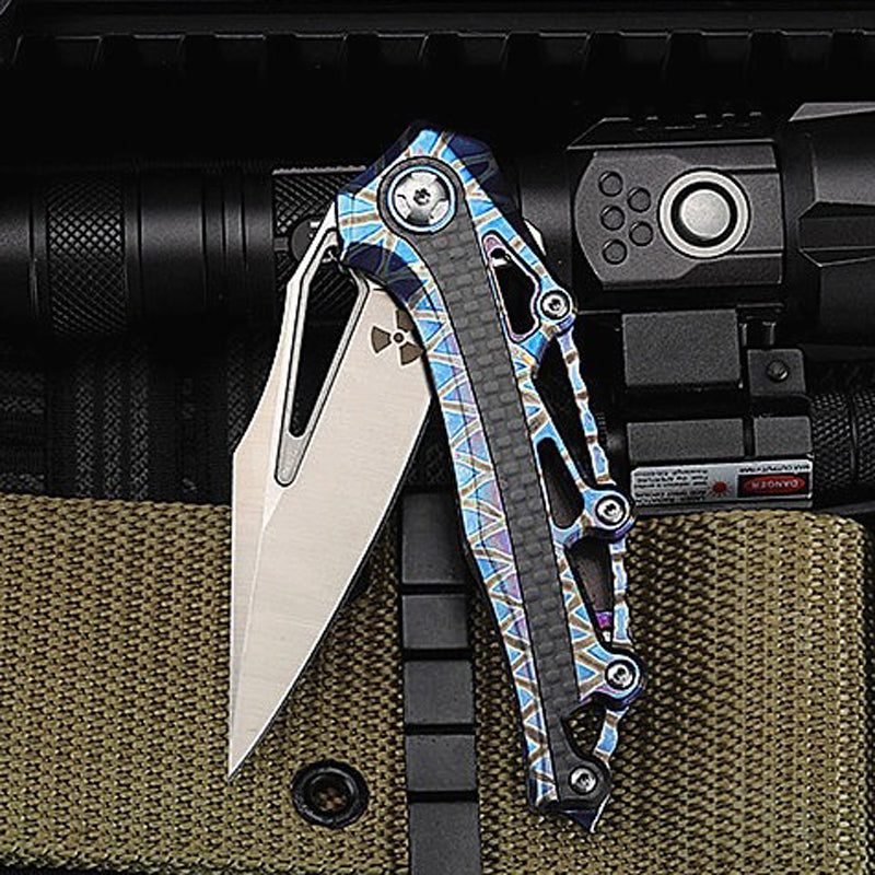 TYR Faia Pocket Folding Knife - EDC Outdoor Tool for Camping Hiking Trekking MXOS1-TYR