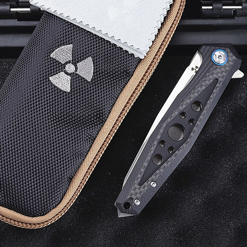 TYR Ginga Pocket Folding Knife - EDC Outdoor Tool for Camping Hiking Trekking XLOTS15-TYR