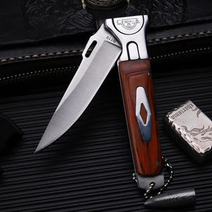 TYR Pocket Folding Knife - EDC Outdoor Tool for Camping Hiking Trekking XLOTS16-TYR