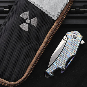 TYR Ganjo Pocket Folding Knife - EDC Outdoor Tool for Camping Hiking Trekking XLOTS17-TYR