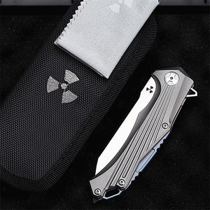 TYR Pocket Folding Knife - EDC Outdoor Tool for Camping Hiking Trekking XLOTS8-TYR