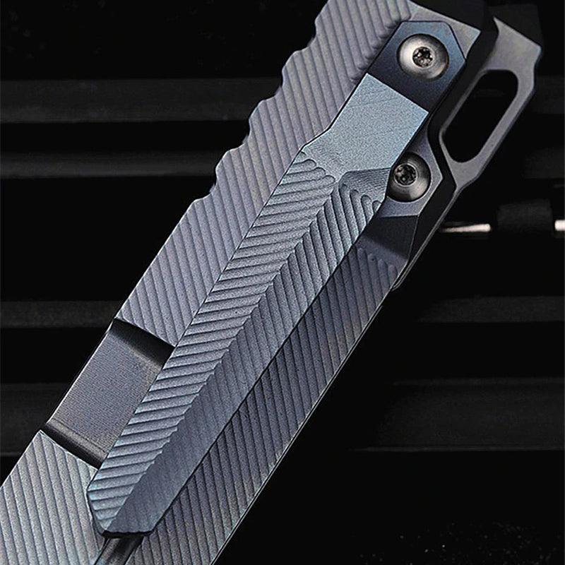 TYR Pocket Folding Knife - EDC Outdoor Tool for Camping Hiking Trekking XLOTS9-TYR-B