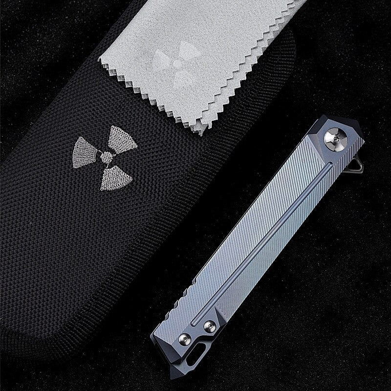 TYR Kashi Pocket Folding Knife - EDC Outdoor Tool for Camping Hiking Trekking XLOTS9-TYR