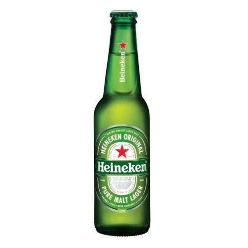 Heineken Lager Bottles 330mL - Strathmore cellars