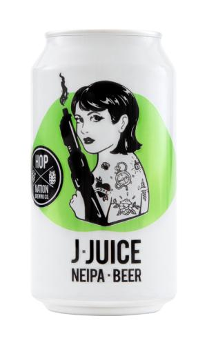 Hop Nation J Juice NEIPA 375mL cans 375mL(Limited) - Strathmorecellars