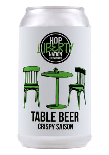 Table Beer Crispy Saison - Strathmorecellars