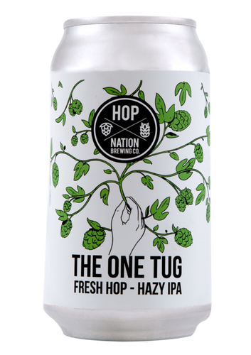 The One Tug - Fresh Hop Hazy IPA - Strathmorecellars
