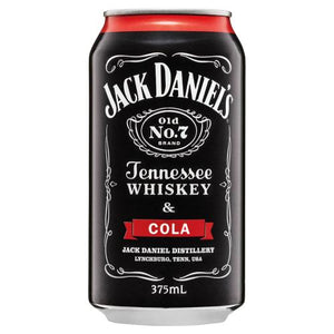 Tennessee Whiskey And Cola Cans 375ml - Strathmorecellars